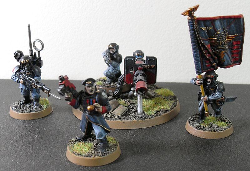 Stormguard Officers - Forum - DakkaDakka   Roll the dice to see if I